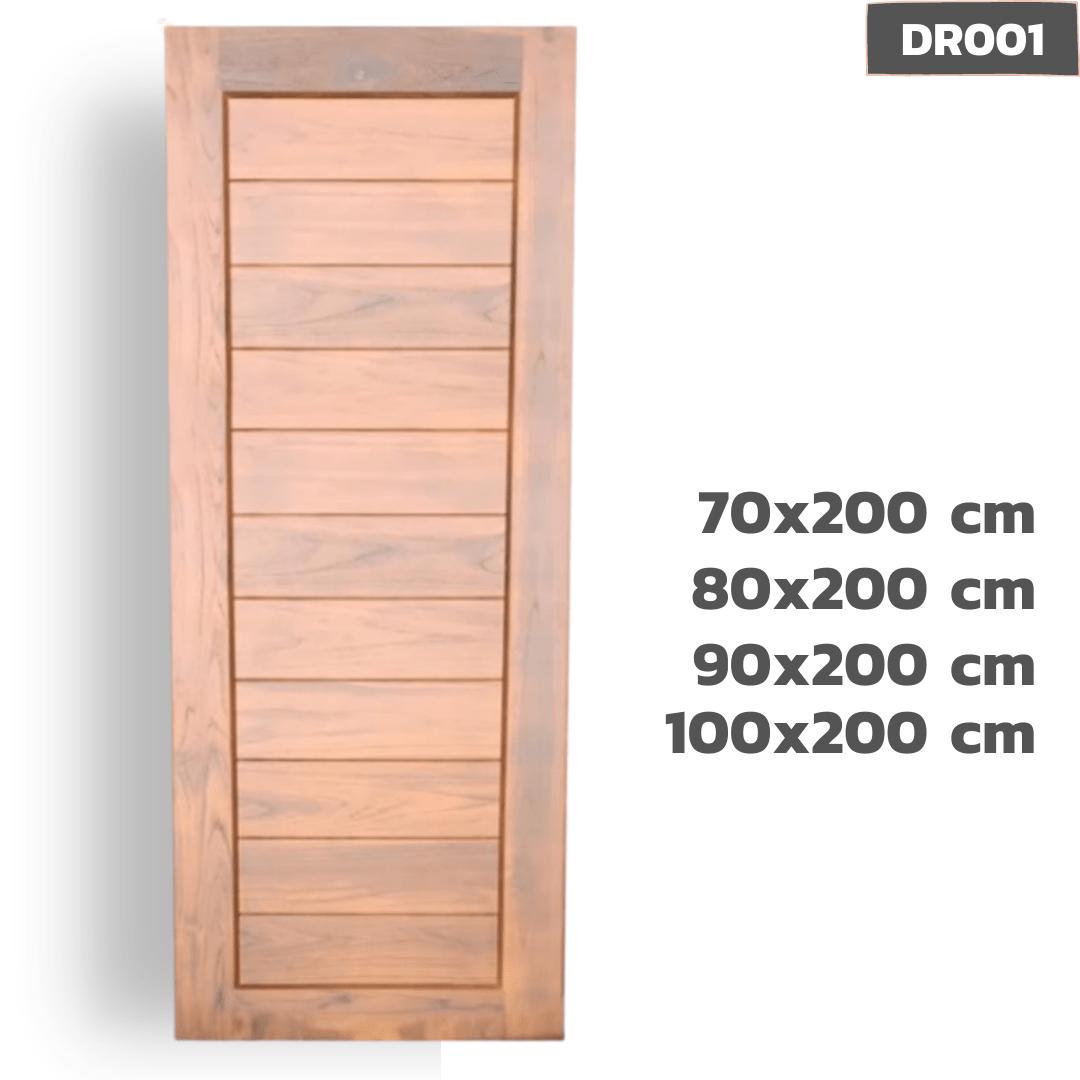 ประตูไม้สัก DR001