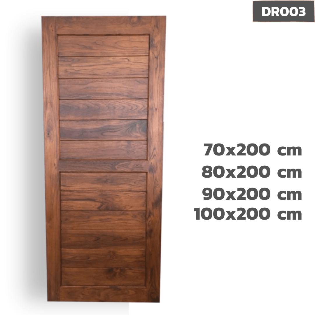 ประตูไม้สัก DR003