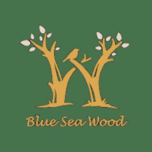 Blue Sea Wood Logo